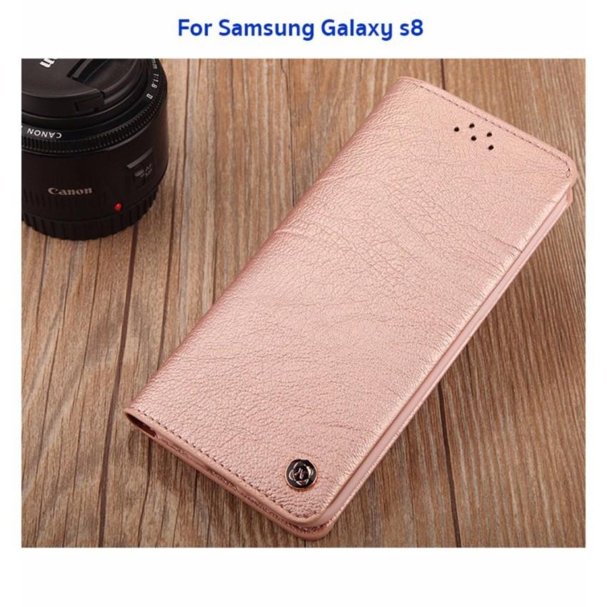 XUNDD Gentleman Leather case เคสหนังฝาปิด ของแท้ สำหรับ Samsung Galaxy S8 #1289