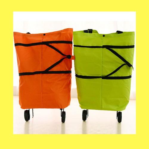 ❡✈✁กระเป๋าล้อลาก กระเป๋าแบบพกพา มี 2 สี U0012กระเป๋าเดินทาง