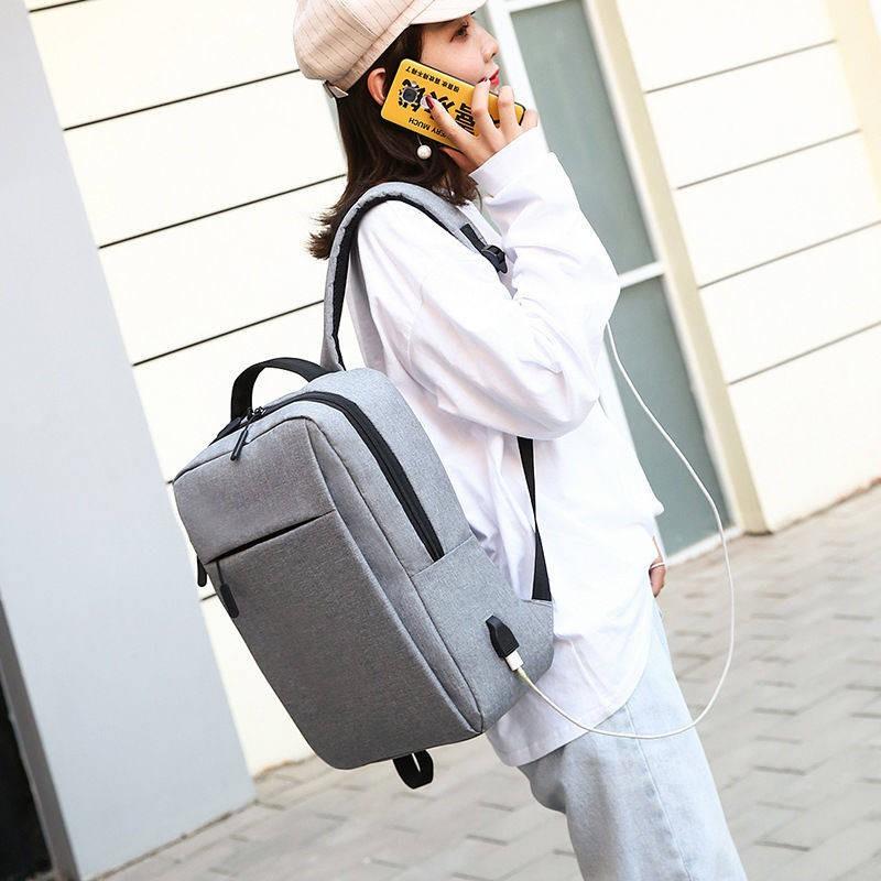 กระเป๋าใส่โน๊ตบุ๊ค ◈กระเป๋าถือโน๊ตบุ๊คกระเป๋าเป้สะพายหลัง 13/14 / 15.6 นิ้วกระเป๋านักเรียนธุรกิจเดินทางสบาย ๆ คอมพิวเตอร