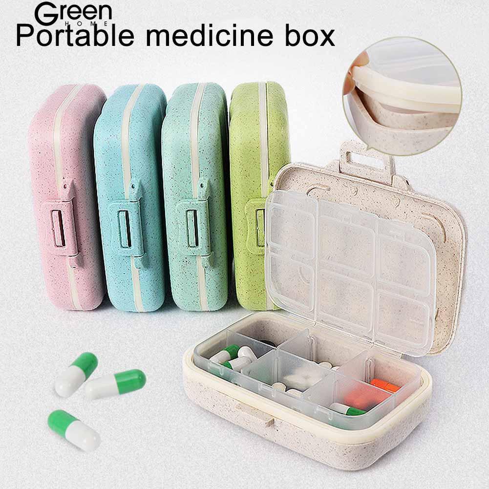 GH 3/6 Slots Moisture-proof Pill Best Box Medicine Storage Travel Drug  Organizer