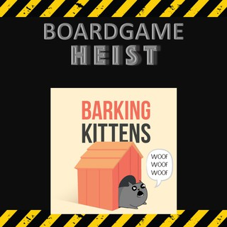 Exploding Kittens: Barking Kittens (Expansion) [BoardGames]