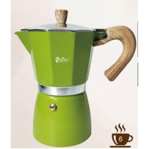 ZBOSS หม้อต้มกาแฟ แก้วทำกาแฟสด เครื่องทำกาแฟ 6cup