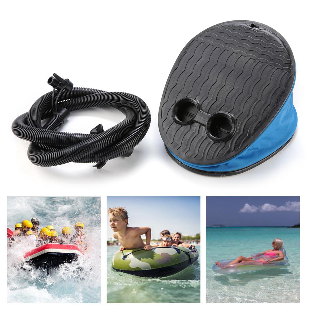 Foot Pump Bellows Air Step Foot Inflator for Air Beds Dinghy Inflatable Toys