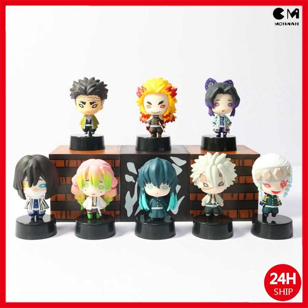 Demon Slayer action figure   Kochou Shinobu/Rengoku Kyoujurou/ Tomioka Giyuu  Model Dolls Toys Birthday Gift