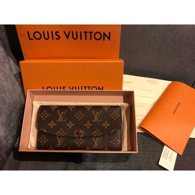 กระเป๋าสตางค์ หลุยส์วิตตอง Louis Vuitton Emilie มือสอง ของแท้