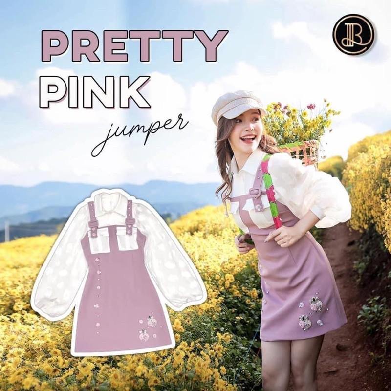 BLT brand Limited Edition [M] เดรสงานลิมิเต็ด Pretty Pink-งานตามหา