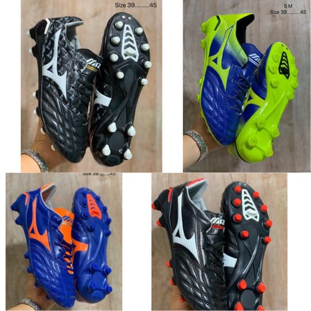 👉🏻👉🏻 รองเท้าฟุตบอล  Mizuno Morelia Neo II FG [Size 39-45] 😛 พร้อมกล่อง