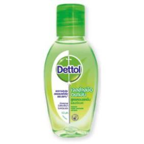 DETTOL เดทตอล เจลล้างมืออนามัย สูตรหอมสดชื่นผสมอโลเวร่า HAND GEL REFRESHING ALOVERA เดตตอล (สินค้ามีตัวเลือกขนาด)