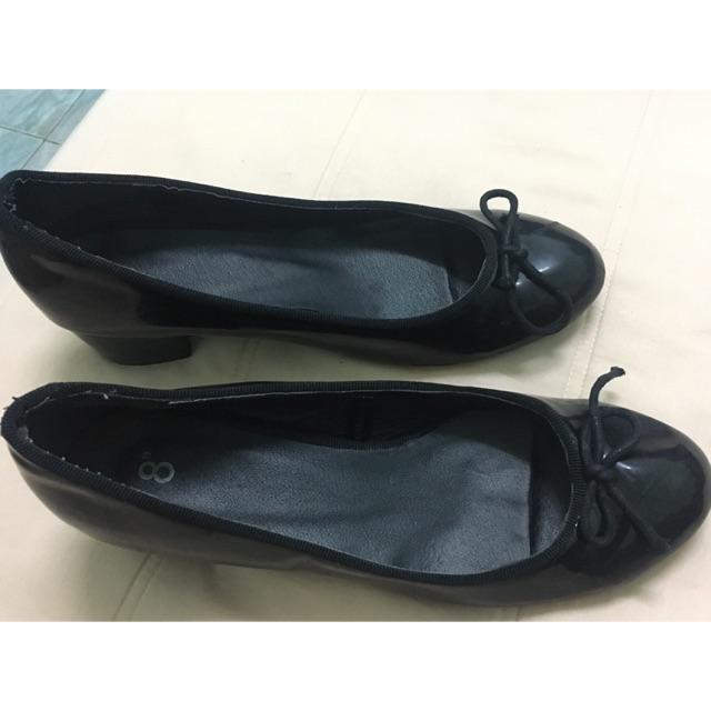 รองเท้าคัชชู สีดำ มือสอง
