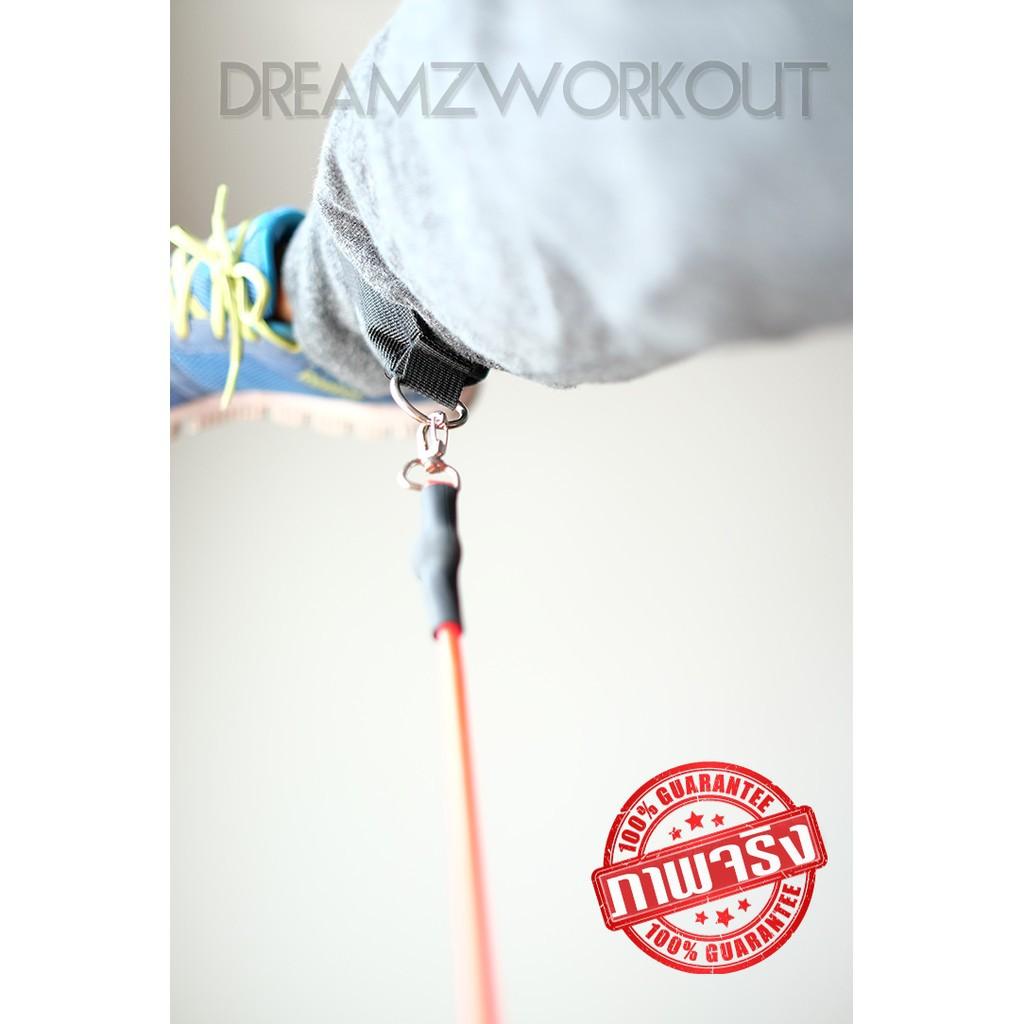 เชือกกระโดด กิจกรรม [CODE:A6382K ลด 80 บาท]  สายแรงต้าน ครบชุด ยางยืดออกกำลังกาย resistance band ครบชุด 11 ชิ้น