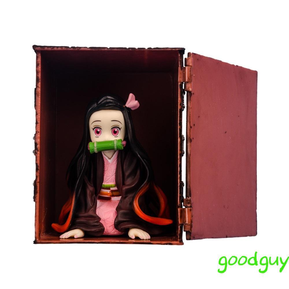 Animation Peripheral Model Kamado Nezuko Figure PVC Figure Model Demon Slayer Nezuko Figure Desktop Decoration