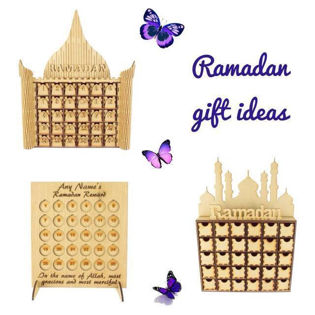 4pcs Home Wall Stickers Decal Mural Art Religious Decoration Muslim Ramadan