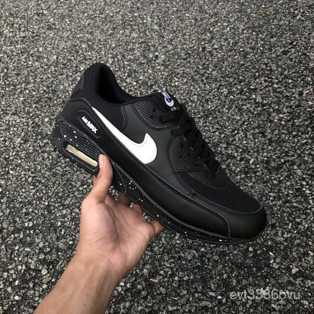 แท้100%รองเท้าผ้าใบ Nike Airmax 90 Galaxy สีดำ