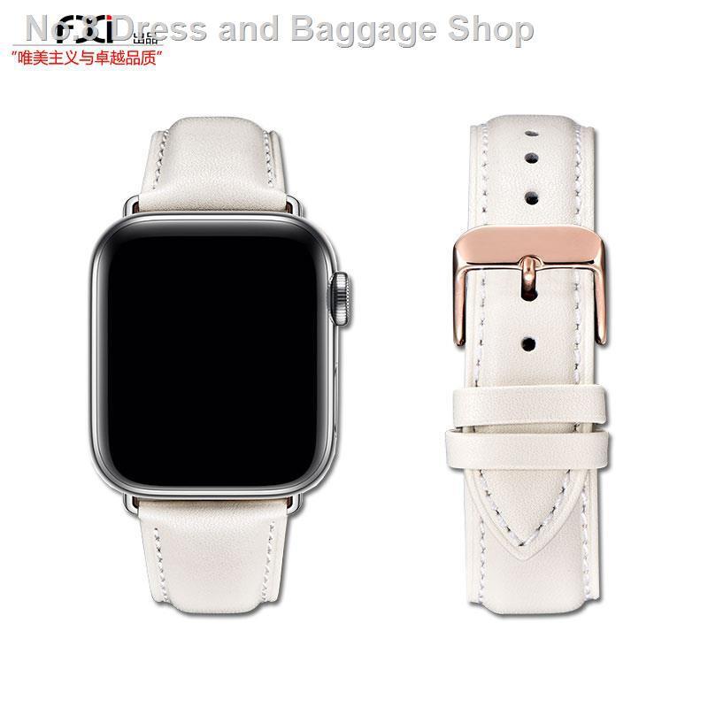 สายนาฬิกาข้อมือสายหนังสําหรับ Applewatch Iwatch 5436