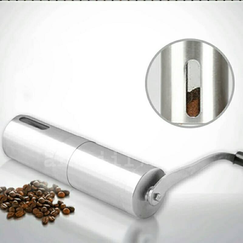 บดกาแฟมือหมุน เครื่องบดกาแฟ  แบบมือหมุน เครื่องบดเมล็ดกาแฟ บดเมล็ดกาแฟ บดกาแฟ Coffee Grinder คุณสมบัติ: 1. ทำจากวัสดุสแต