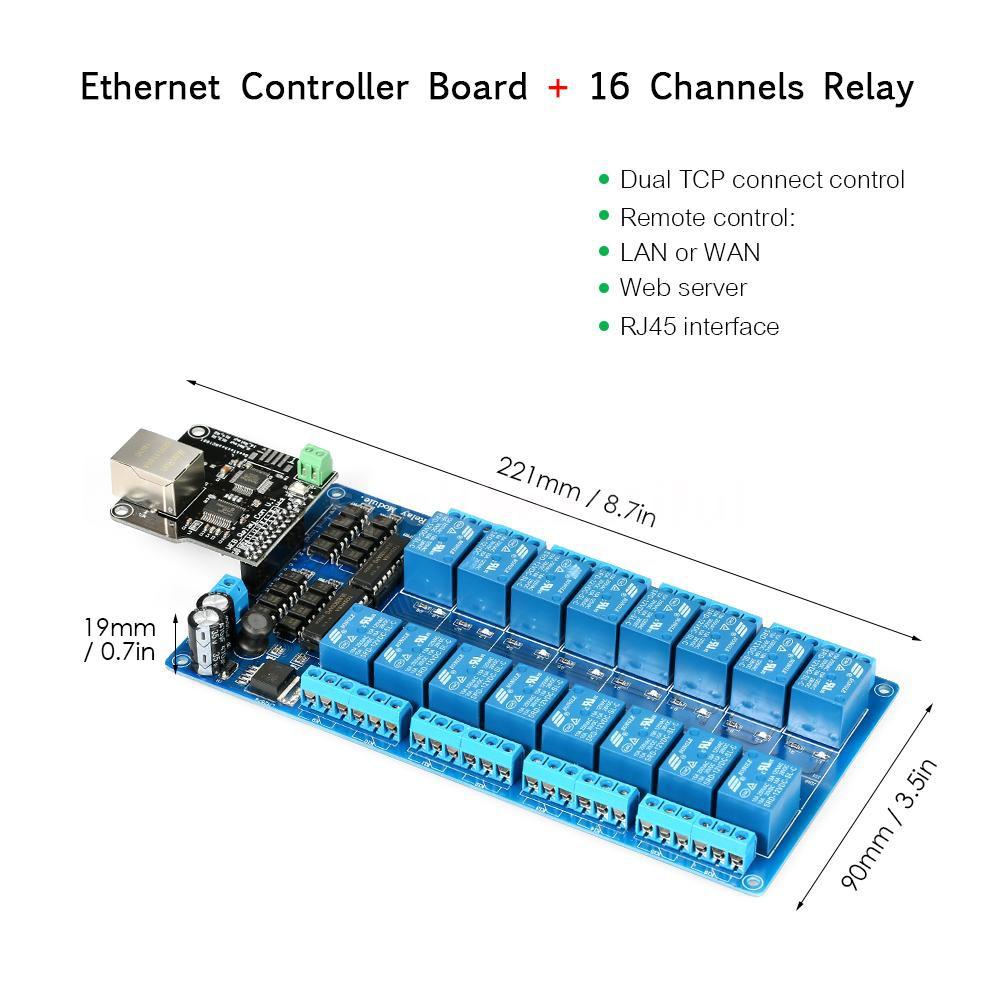 16 Channel Relay 12V Module for Arduino UNO MEGA2560 R3 Raspberry Pi