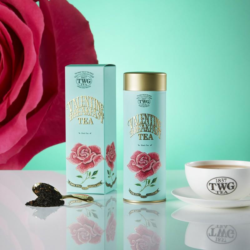 Shu Yunjia [สินค้าใหม่จำนวน จำกัด ] TWG Tea Lovers Breakfast Tea Black Tea Rose Singapore ชาปรุงรสนำเข้า