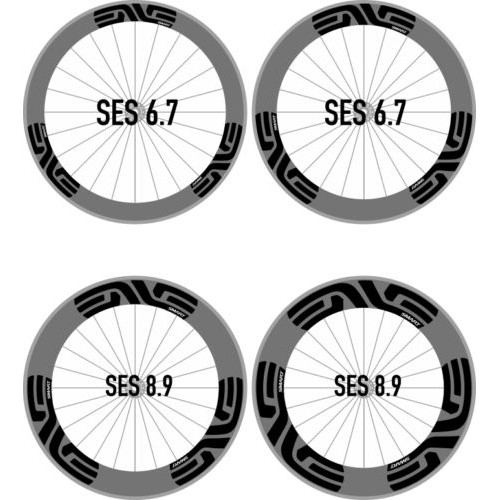 Road bike bicycle wheel rim stickers for SES Smart System race cycling decals Bicycle Accessories