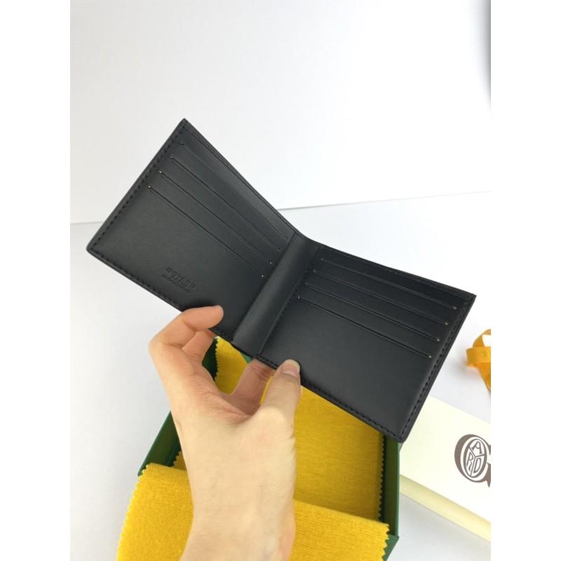 Goyard wallet black brand new