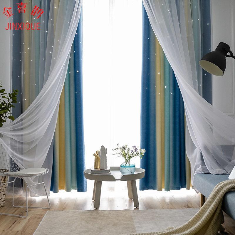 400 * 270 CM ผ้าม่านประตู ผ้าม่านหน้าต่าง ผ้าม่านสำเร็จรูป ม่านเวลโครม่านทึบผ้าม่านกันฝุ่น ใช้ตีนตุ๊กแก
