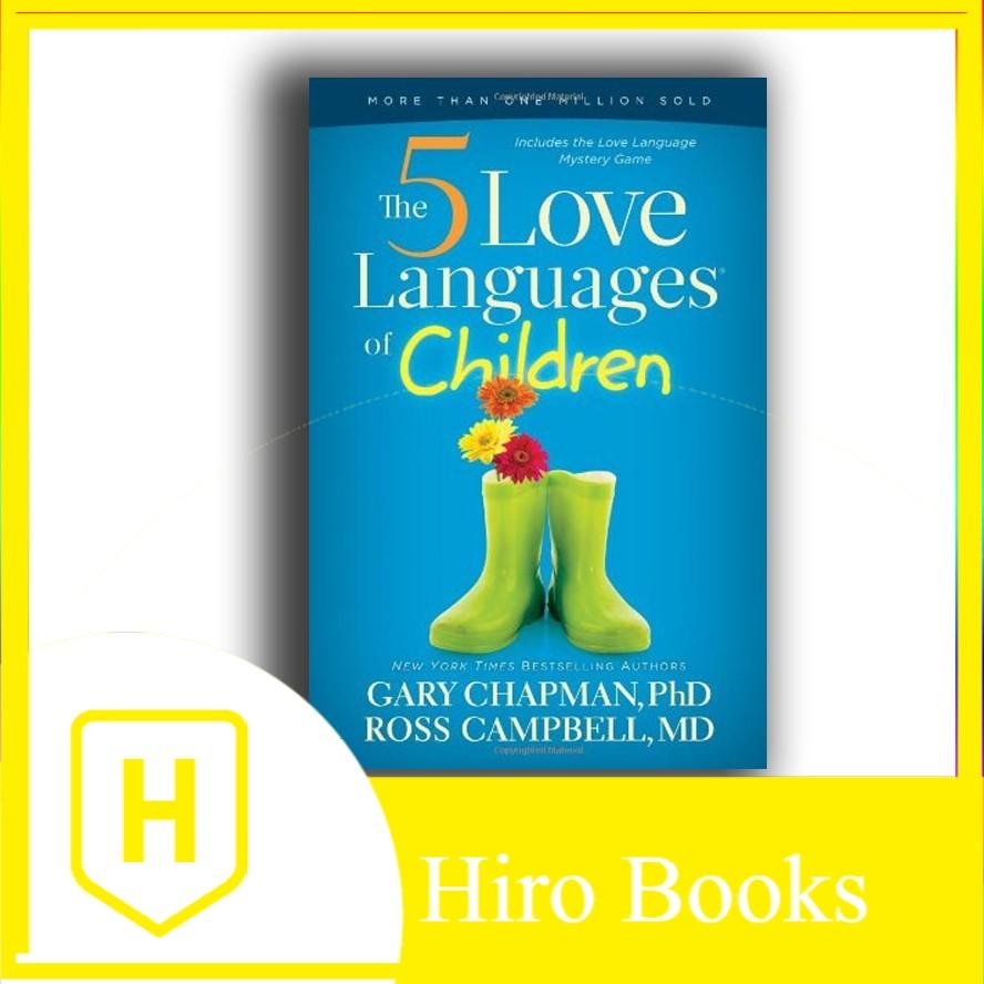 หนังสือ The 5 Love Languages of 's Books - Hiro Books ของเล่นสําหรับเด็ก