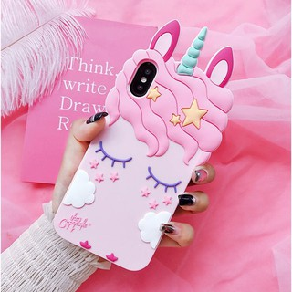 Review Huawei Y7 Y6 Pro Y9 2019 Nova 2i 3 3i 2 P20 Lite 4e P30 Honor 8 Mate 10 Lite Y7 Y5 Prime 2018 Unicorn Cartoon Soft Cases