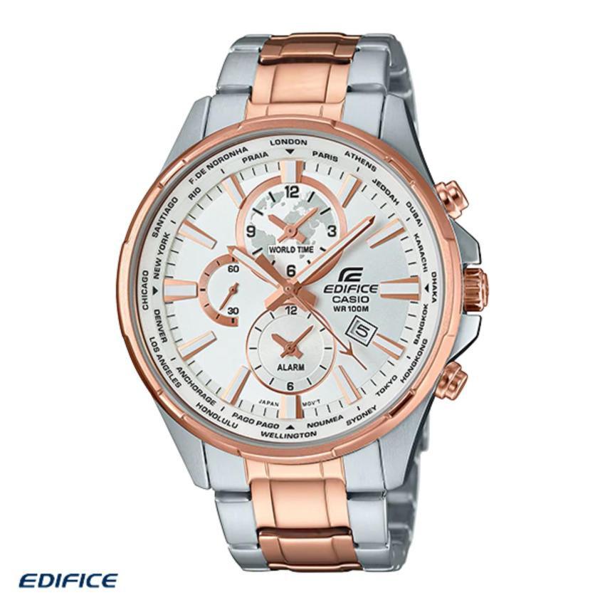 Casio Edifice นาฬิกาข้อมือผู้ชาย สายสแตนเลส รุ่น EFR-304SG-7AV