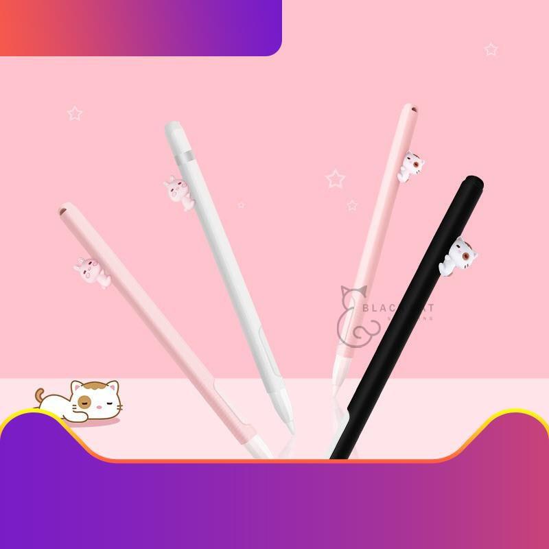 ♥[Ready to ship] 💥โค้ดลด10%💥 Apple pencil Case 2in1 (Gen2) ปลอกปากกา รูปการ์ตูน apple pencil เคสซิลิโคน กันหาย Apple P