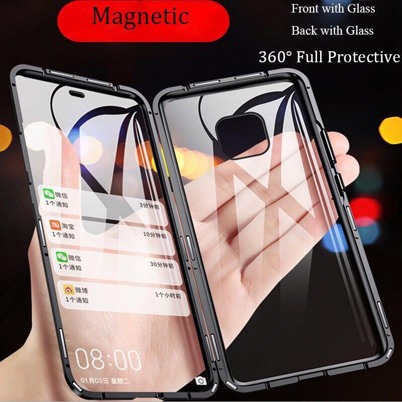 เคสหัวเว่ยเคสโทรศัพท์มือถือแบบสองด้านสําหรับ Huawei Case P 30 P 20 Pro Mate 20 Pro Honor V 20