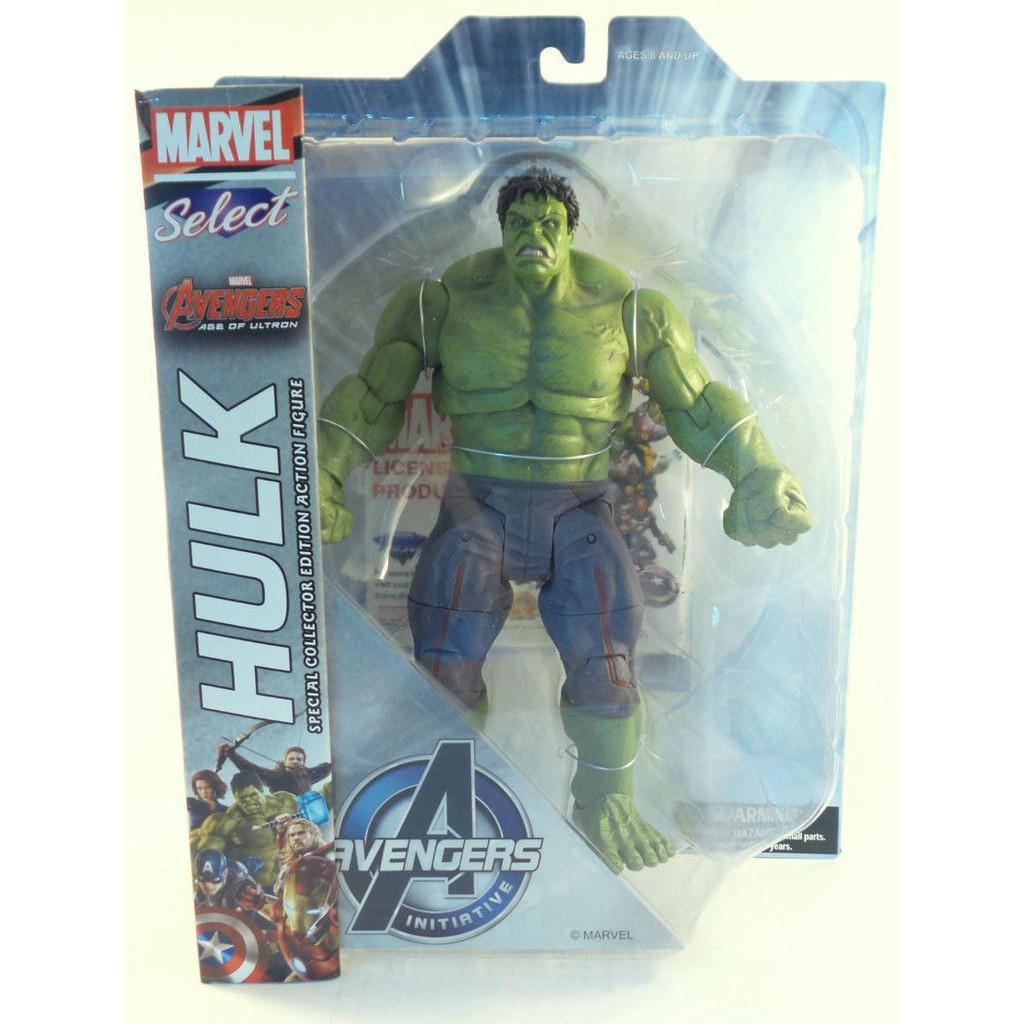 Marvel Select Avengers Age of Ultron Hulk Action Figure Diamond Select 9/'/'