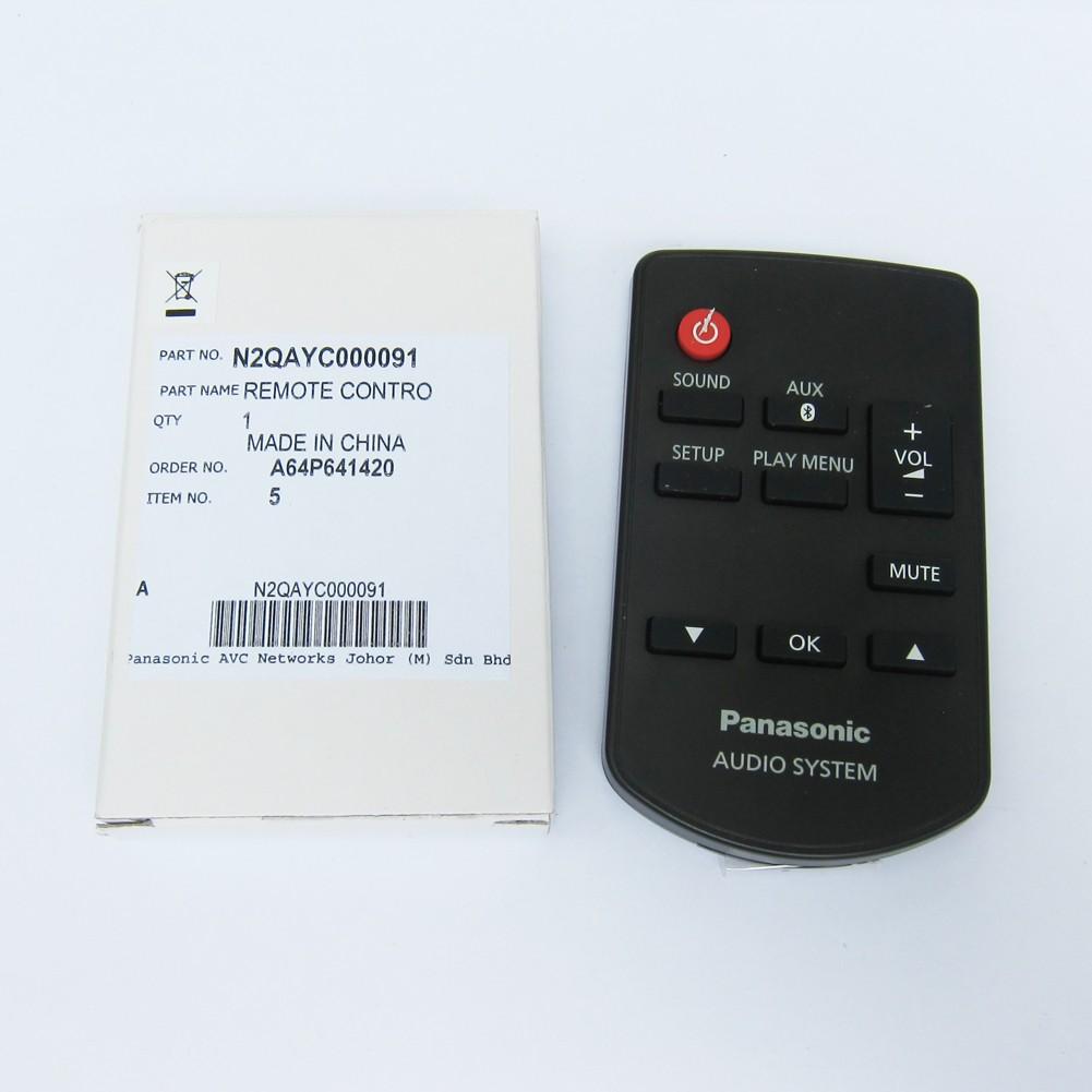 Ersatz Fernbedienung passend für Panasonic SC-NE1 und SC-NE3