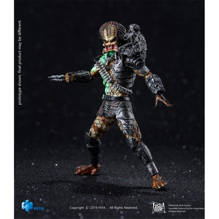 ✓۞❧Spot Hiya Predator 1/18 War Damaged Jungle Figure Genuine