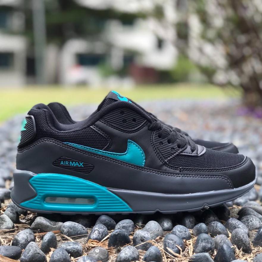 41-45 รองเท้าผ้าใบ Nike Airmax 90 สีดำ