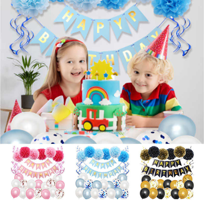 41pcs Birthday Party Decoration Balloon Set CRoO