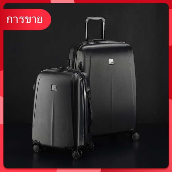 กระเป๋าเดินทางซามูไรสีดำเงียบ 20 นิ้วกระเป๋าเดินทางขนาดเล็ก 22 กระเป๋าเดินทางรถเข็นกรณีชายรหัสผ่านกล่อง 24