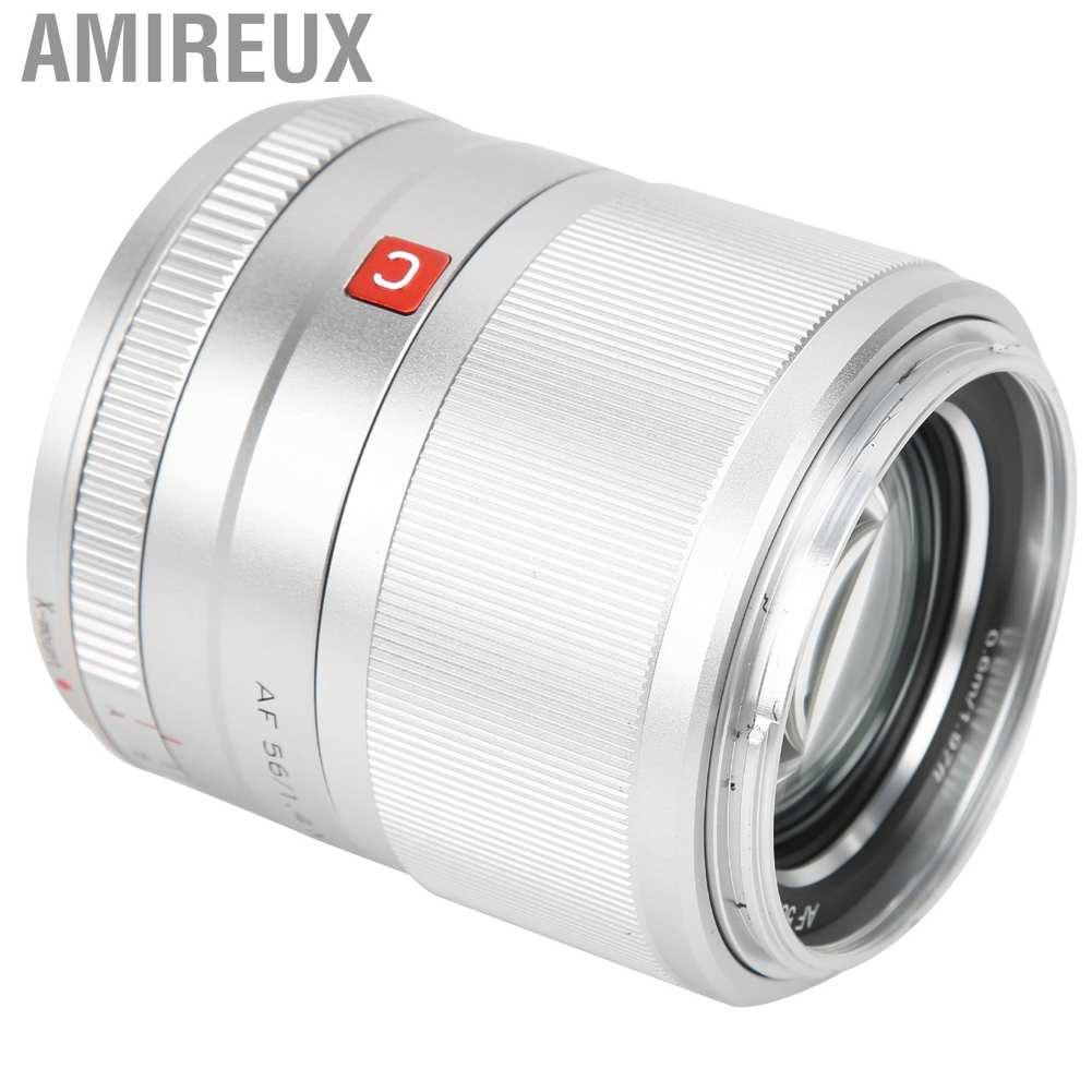Amireux Viltrox 56 Mm F1 . 4 เลนส์โฟกัสอัตโนมัติสําหรับ Fuji X Mount Camera