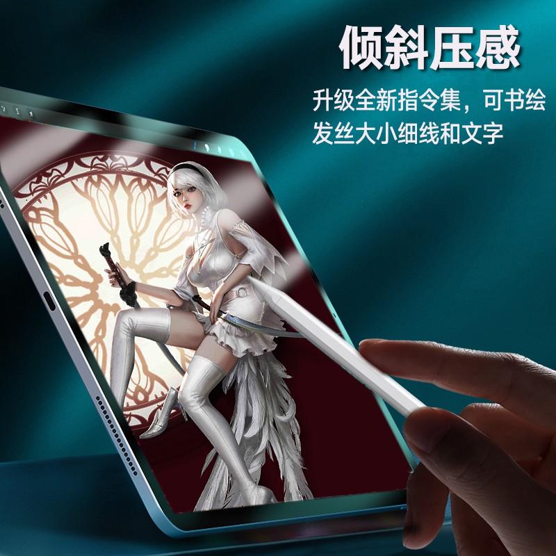 ❧☢เหมาะสำหรับ Apple iPad ปากกาสไตลัสไวต่อแรงกด applepencil รุ่นที่สองสไตลัส ipencil2 รุ่นที่ใช้งาน iPad ปากกา capacitive