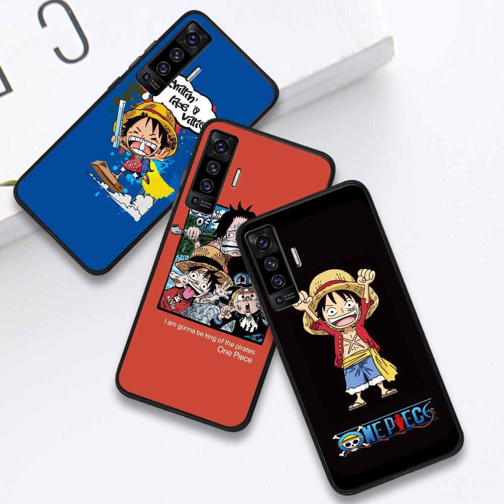 สำหรับ Infinix Hot 9 Play Hot 8 Smart 4 S5 Lite S5 Pro NOTE 7 X650 X652 X653 X690 X680 Soft Case Silicone Casing TPU Cartoon Funny Luffy Anime OnePiece Phone Full Cover simple Macaron Shockproof matte Back Cases เคสโทรศัพท์ เคสมือถือ