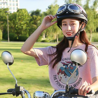 【กระจกมองหลัง】☸ஐUniversal Emma Bikes for Electric Vehicle mirrors Di accessories modified pedal motorcycle rearview m