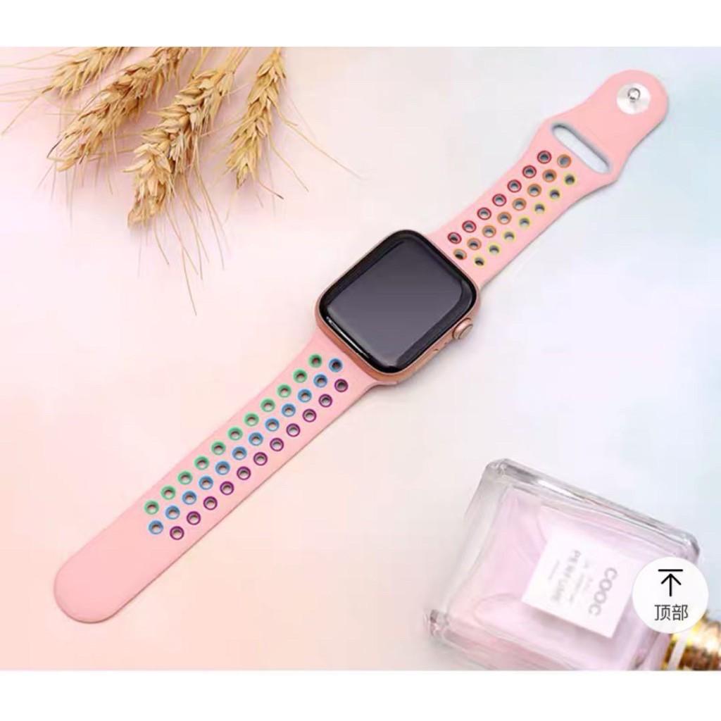 สาย applewatch สาย applewatch แท้ ถูกที่สุด จัดส่งทันที สายนาฬิกาข้อมือ สาย applewatch Apple Watch watch 6 SE ซีรีส์ 5 4