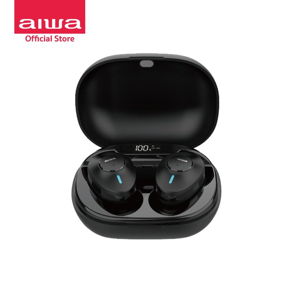 AIWA MK-X50A TWS Bluetooth Earphones หูฟังไร้สายแบบอินเอียร์ น้ำหนักเบา พกพาสะดวก