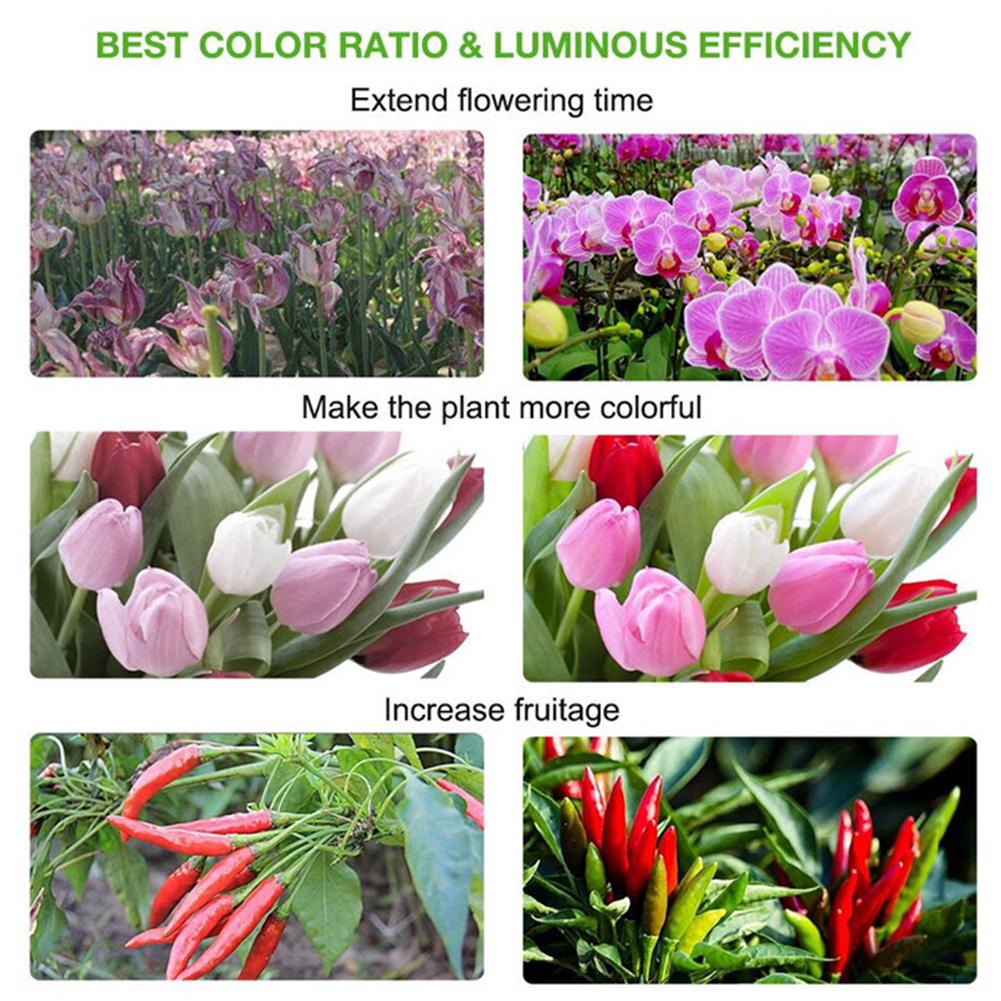 LED Grow Light hydrophonic Indoor Plants Veg Flower Growth Hanging Lamp  Useful
