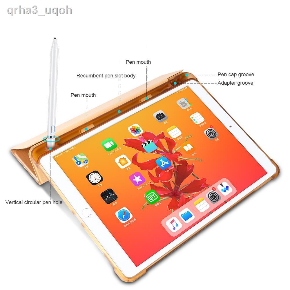 พร้อมส่ง№❡โปร 9.9 [iPad10.2Gen7 มีที่เก็บของ] เคส iPad 10.2 Gen7 / Pro10.5 Air3 10.5 มีที่เก็บ Apple Pencil ใส่ได้เคสน