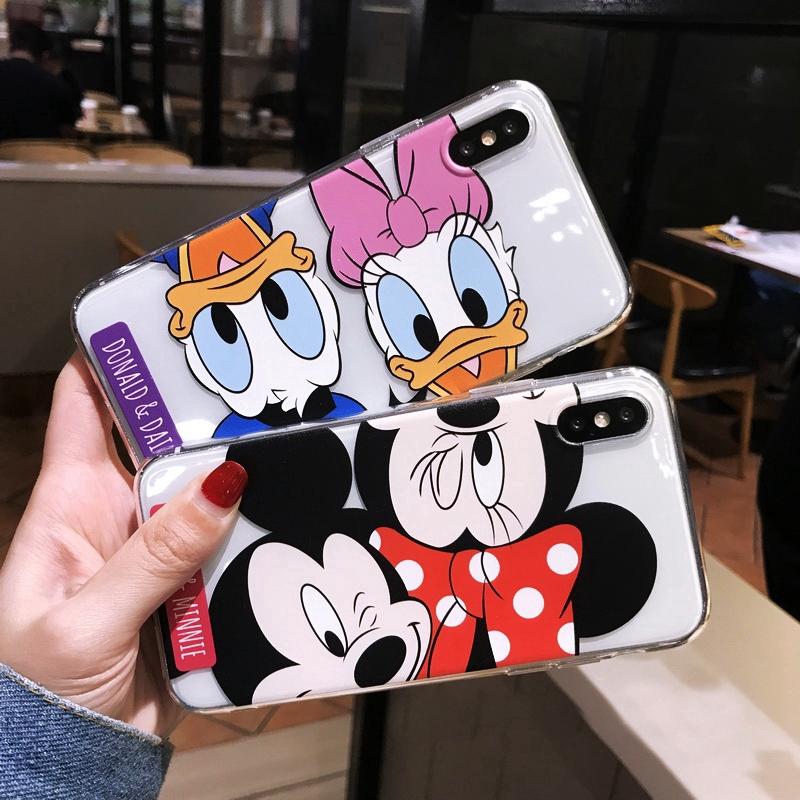Cartoon Disney Donald Duck Mickey case Samsung A8+ 2018/A8Plus 2018 A8 2018 A7 2018 A6+ 2018/A6Plus 2018 A6 2018 A9 2018 A7 2017/A720 A5 2017/A520 A3 2017/A320 J8 2018 J6 2018 J6Plus/J6+ J4 2018 J4Plus/J4+ J7Plus J7Pro/J7 2017 J7Prime J710/J7 2016 A71 A51