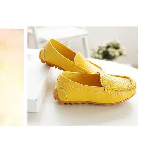 รองเท้าคัชชูสำหรับเด็กผู้หญิงผู้ชาย