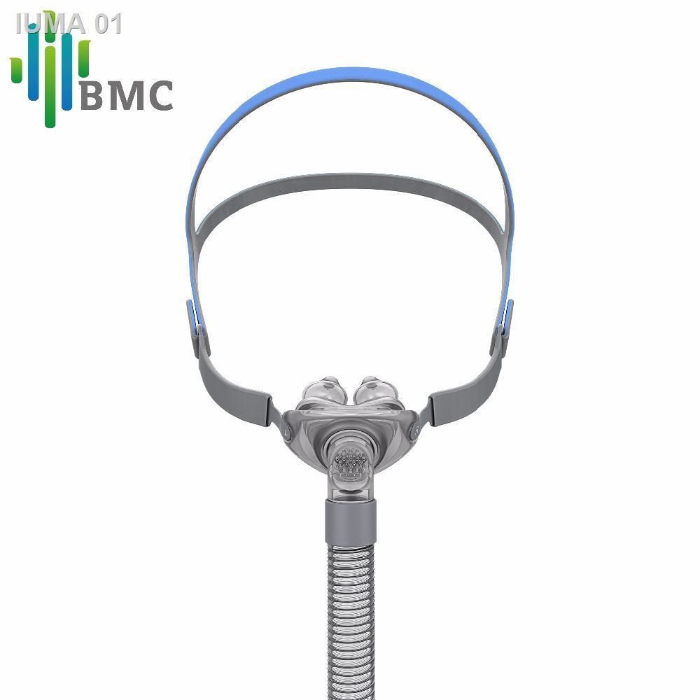 🌻สินค้าคุณภาพสูง🌻┅﹉หน้ากาก CPAP BMC P2 Nasal Pillows Mask