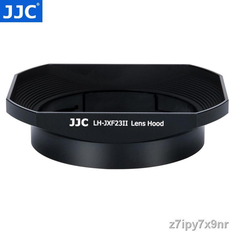 อุปกรณ์เสริมกล้อง❁JJC ใช้ Fuji LH-XF23 เลนส์ฮูด XF 23 มม. f1.4 เลนส์ 56 F1.2 R / XF56mm APD กล้อง XT30 XT3 XT20 โลหะสี่