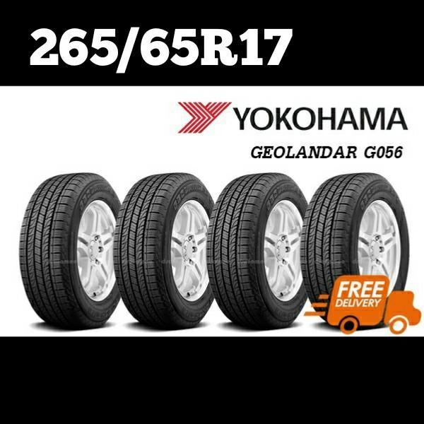 265/65R17 YOKOHAMA GEOLANDAR H/T G056 จัดส่งฟรี