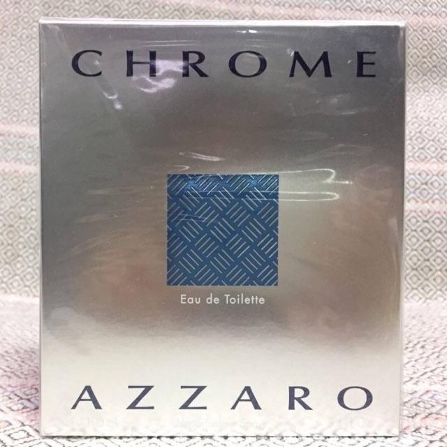 Azzaro Chrome EDT 100ml กล่องซีล