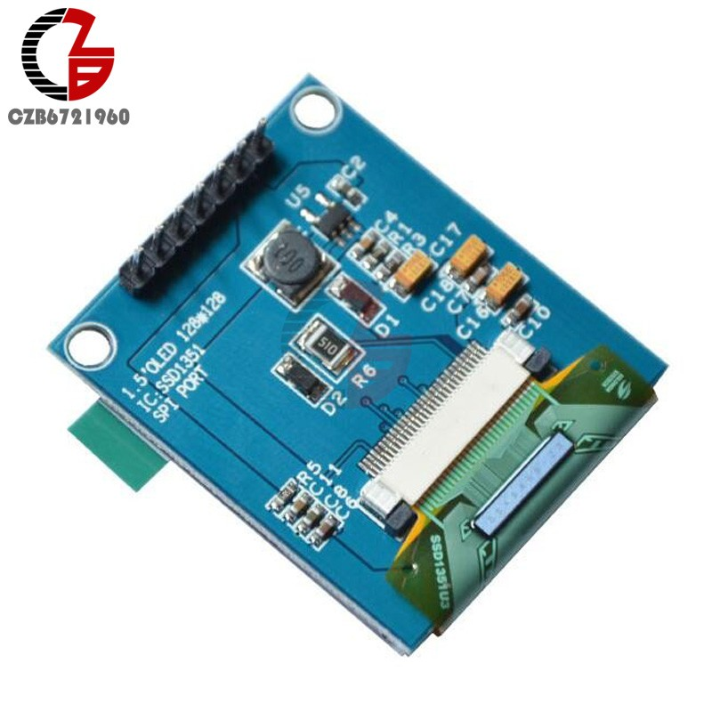 Hot Deal 1 5 inch 7PIN Full Color OLED Module Display Screen